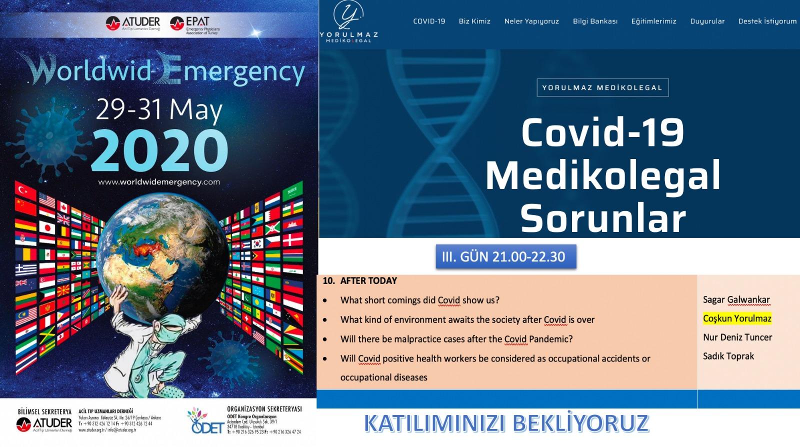 covid 19 medikologal sorunlar kongresi