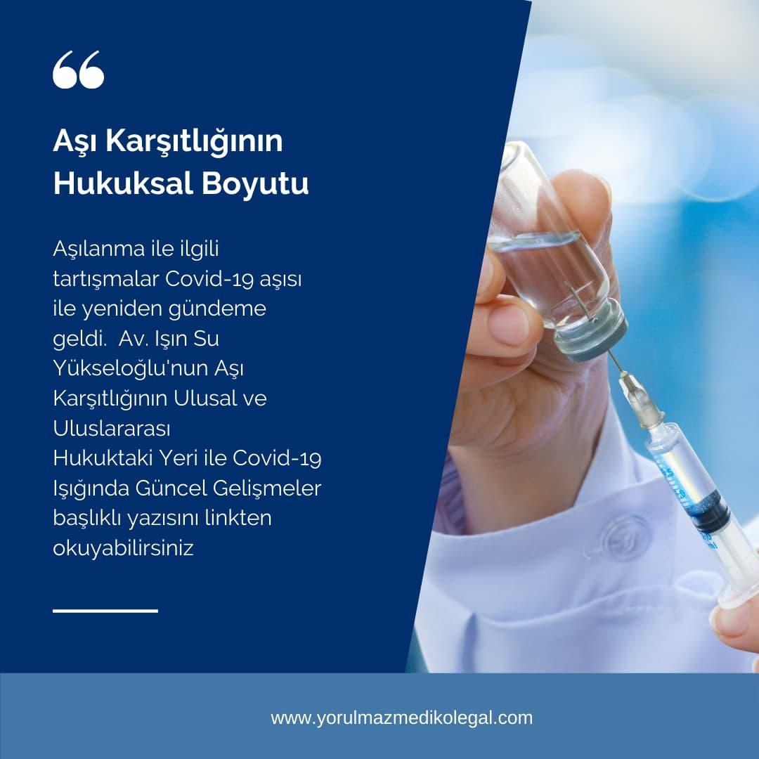 Aşı Karşıtlığının Hukuksal Boyutu