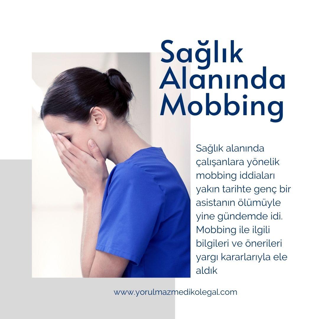 Sağlık Alanında Mobbing