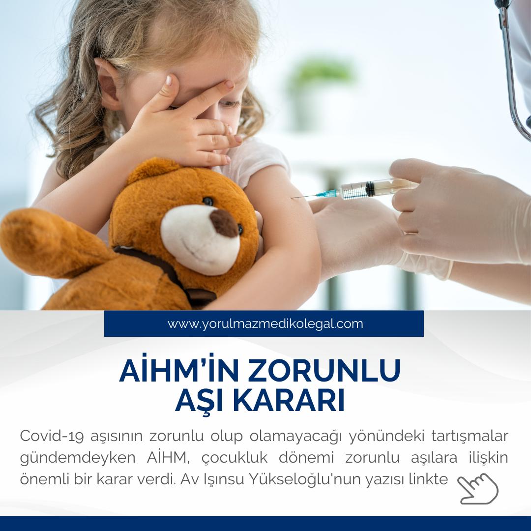 AİHM'in Zorunlu Aşı Kararı