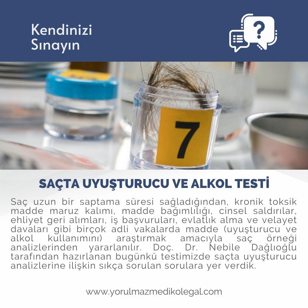Saçta Uyuşturucu ve Alkol Testi
